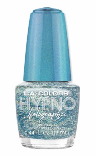 L.A. Colors Hypno Holographic Surreal Nail Polish Perspective: front
