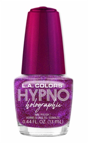 L.A. Colors Hypno Holographic Euphoric Nail Polish Perspective: front