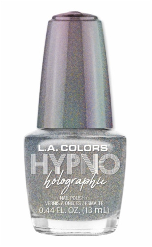 L.A. Colors Hypno Holographic Dazed Nail Polish Perspective: front