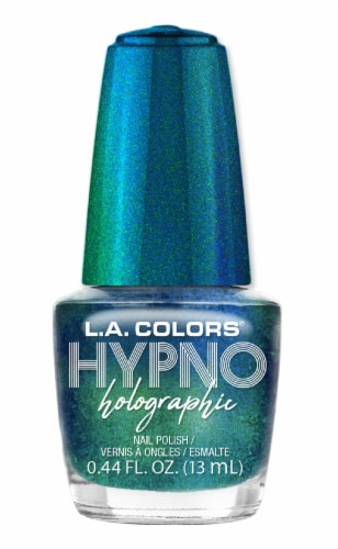 L.A. Colors Hypno Holographic Voodoo Nail Polish Perspective: front