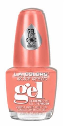 L.A. Colors Good Vibes Color Craze Gel Nail Polish Perspective: front