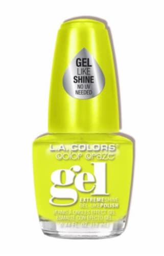 L.A. Colors Day Glow Color Craze Gel Nail Polish Perspective: front