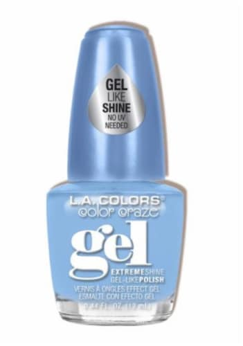L.A. Colors Splashy Color Craze Gel Nail Polish Perspective: front