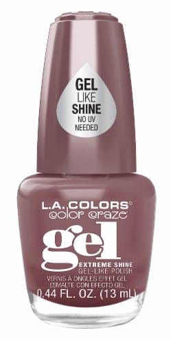 L.A. Colors Color Craze Skinny Dip Gel Shine Nail Polish Perspective: front