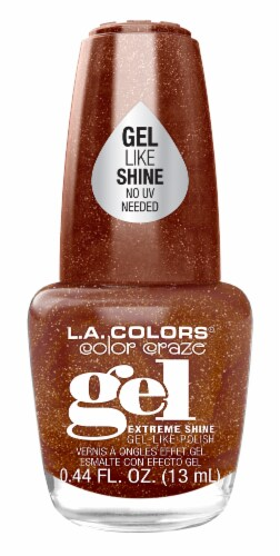 L.A. Colors Color Craze Exposed Gel Shine Nail Polish Perspective: front