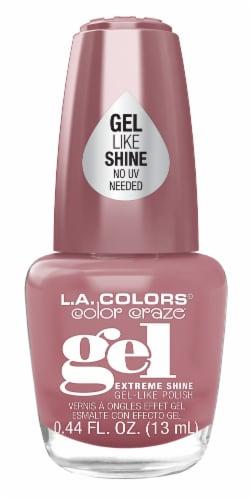 L.A. Colors Color Craze Au Natural Gel Shine Nail Polish Perspective: front