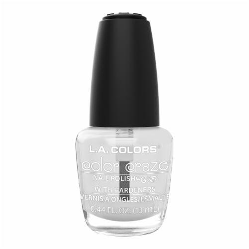 L.A. Colors Color Craze Voltage Nail Polish Perspective: front