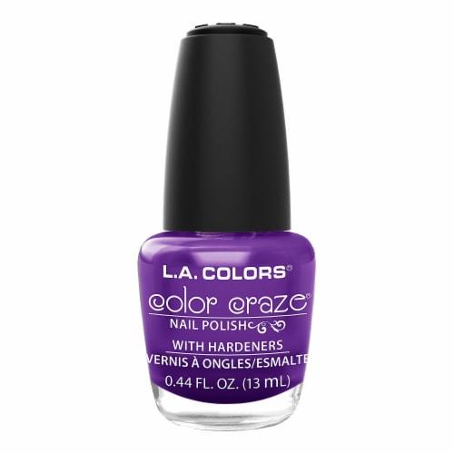 L.A. Colors Color Craze Nuclear Nail Polish Perspective: front