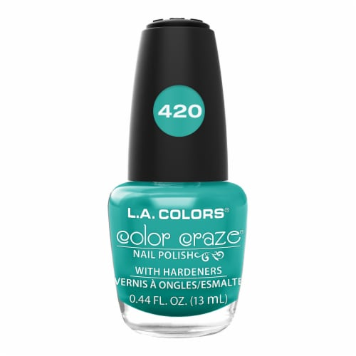 L.A. Colors Color Craze Atomic Nail Polish Perspective: front