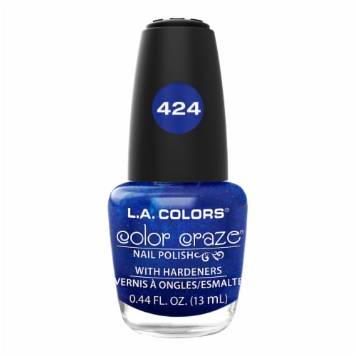 L.A. Colors Color Craze Wired Nail Polish Perspective: front