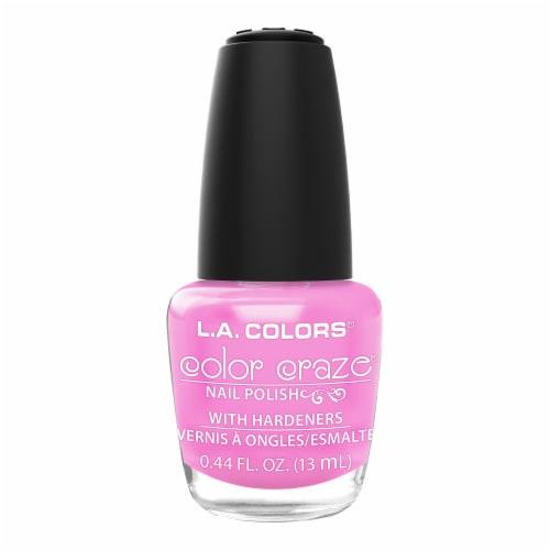 L.A. Colors Color Craze Summertime Nail Polish Perspective: front