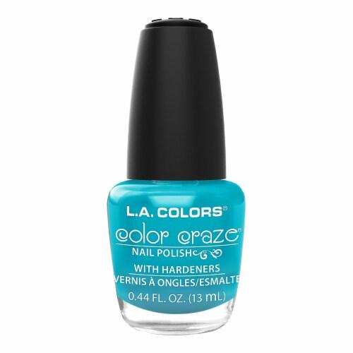L.A. Colors Color Craze Sea Siren Nail Polish Perspective: front