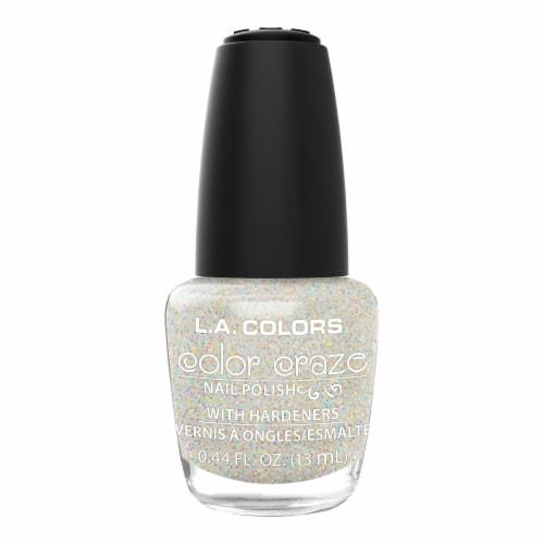 L.A. Colors Color Craze Sassy Sparkle Nail Polish Perspective: front