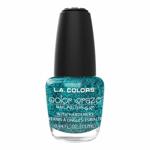 L.A. Colors Color Craze Treasure Island Nail Polish Perspective: front