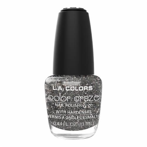 L.A. Colors Color Craze Sparkling Diamonds Nail Polish Perspective: front