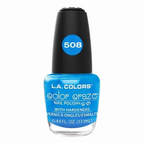 L.A. Colors Color Craze 508 Aquatic Nail Polish Perspective: front