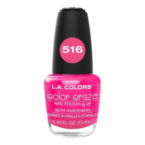 L.A. Colors Color Craze 516 Absolute Nail Polish Perspective: front