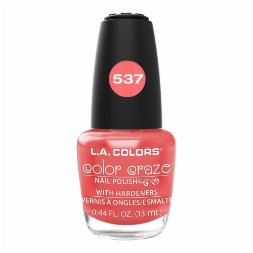 L.A. Colors Frill Nail Lacquer Perspective: front