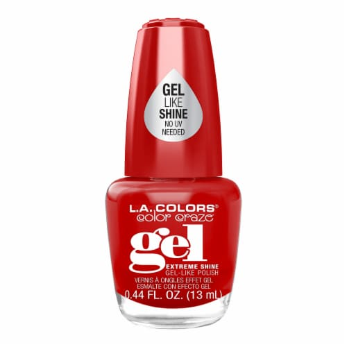 L.A. Colors Gel Shine Polish - Fierce Perspective: front
