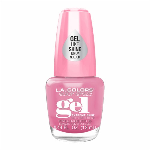 L.A. Colors Gel Shine Polish - Sweetheart Perspective: front