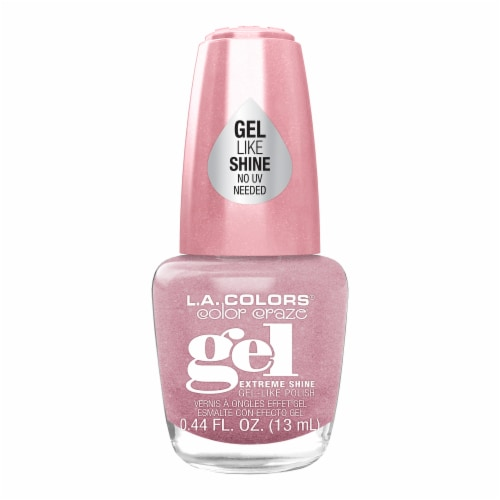 L.A. Colors Gel Shine Polish - Giggle Perspective: front