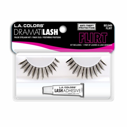 L.A. Colors DramatiLash BEL949 Flirt False Lashes Kit Perspective: front