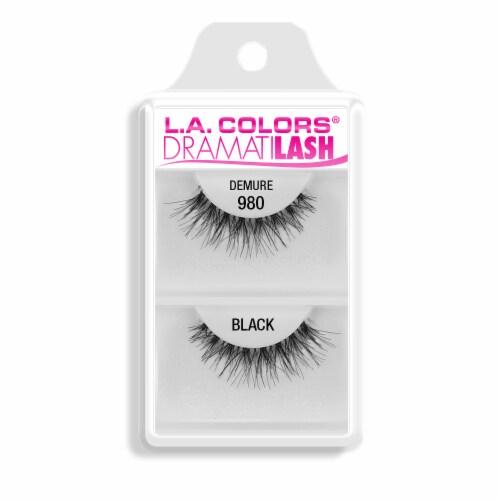 L.A. Colors 980 Demure False Lashes Perspective: front