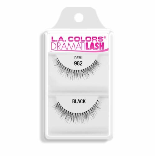 L.A. Colors 982 Demi False Lashes Perspective: front