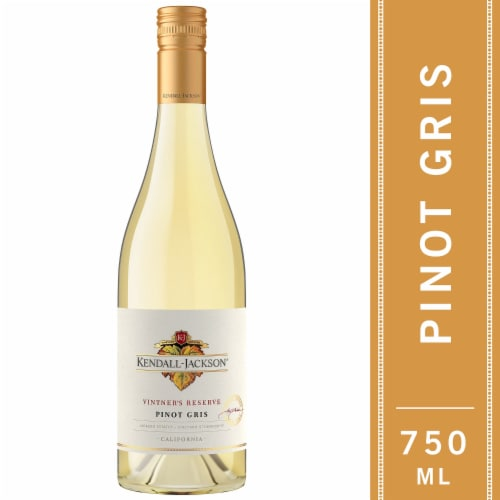 Kendall-Jackson Vintner's Reserve Pinot Gris White Wine Perspective: front