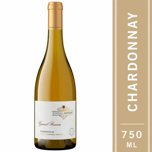 Kendall-Jackson Grand Reserve Chardonnay White Wine Perspective: front