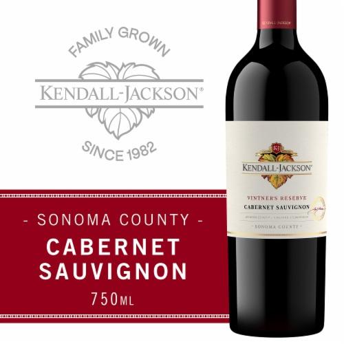 Kendall-Jackson Vintner's Reserve Cabernet Sauvignon Red Wine Perspective: front