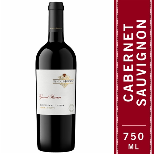 Kendall-Jackson Grand Reserve Cabernet Sauvignon Red Wine Perspective: front