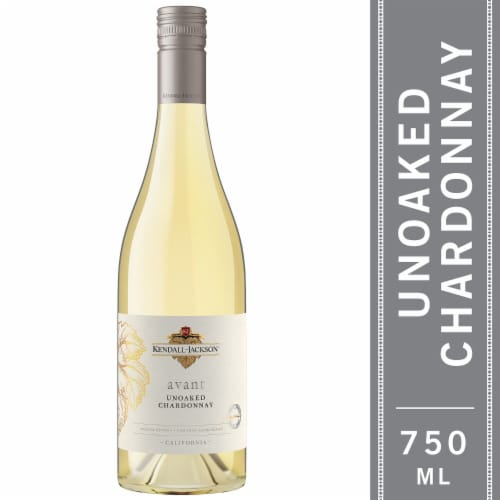 Kendall-Jackson Avant Unoaked Chardonnay White Wine Perspective: front