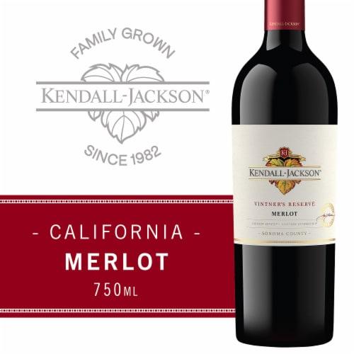 Kendall-Jackson Vintner's Reserve Merlot Red Wine Perspective: front