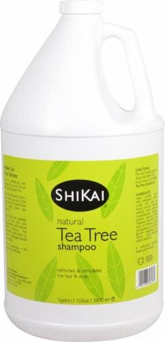 Shikai Natural Tea Tree Shampoo Perspective: front