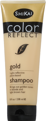 Shikai Color Reflect Gold Shampoo Perspective: front