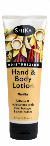 ShiKai French Vanilla Hand & Body Lotion Perspective: front