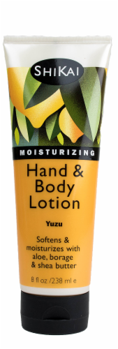 ShiKai Yuzu Fruit Hand & Body Lotion Perspective: front