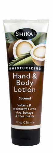 ShiKai Coconut Hand & Body Lotion Perspective: front