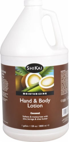 Shikai Moisturizing Cinnamon Hand & Body Lotion Perspective: front