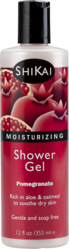 ShiKai Pomegranate Shower Gel Perspective: front