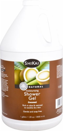 Shikai Coconut Moisturizing Shower Gel Perspective: front