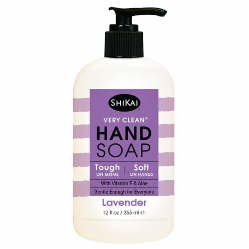 ShiKai Very Clean Lavender Hand Soap Perspective: front