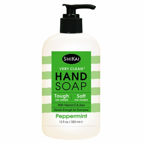 ShiKai Very Clean Peppermint Hand Soap Perspective: front