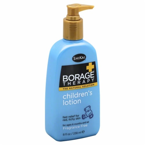 ShiKai Borage Children's Dry Skin Therapy Lotion Perspective: front