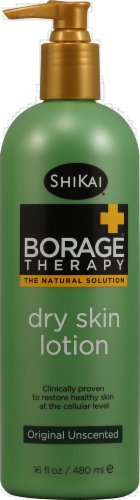ShiKai Borage Therapy Original Unscented Dry Skin Lotion Perspective: front