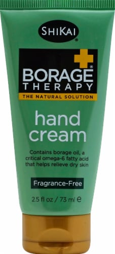 ShiKai Borage Therapy Unscented Hand Cream Perspective: front