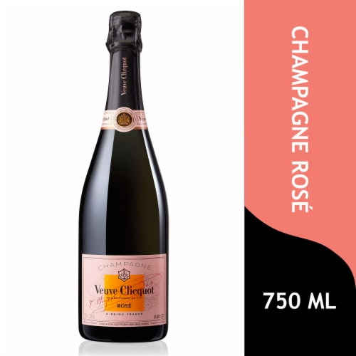 Veuve Clicquot Rose Champagne Perspective: front