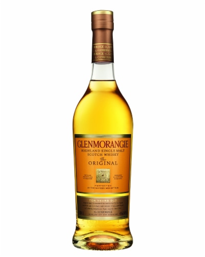 Glenmorangie The Original 10 Year Highland Single Malt Scotch Whisky Perspective: front