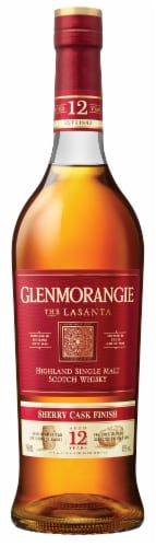Glenmorangie The Lasanta 12 Year Highland Single Malt Scotch Whisky Perspective: front